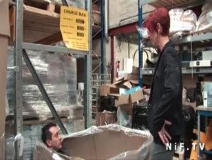 Cabriolet maturo francese dai capelli rossi amater battuto